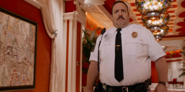 "Kevin James in ""Paul Blart: Mall Cop 2"" (2014)"