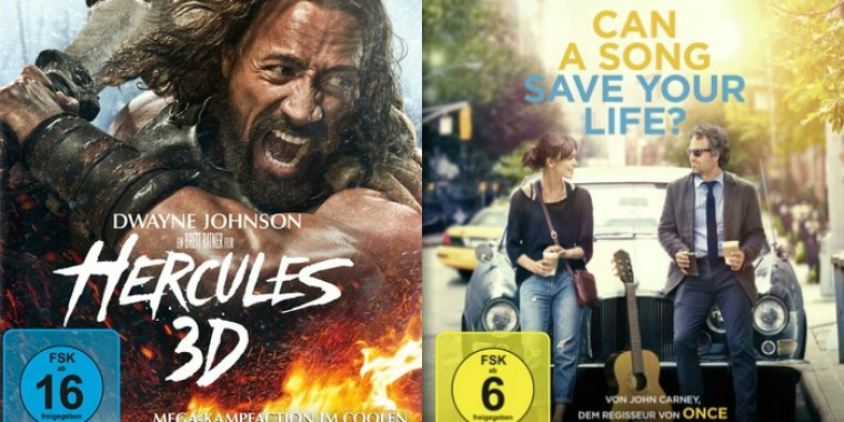 """Hercules"" (2014) / ""Can a Song save your Life?"" (2014)"
