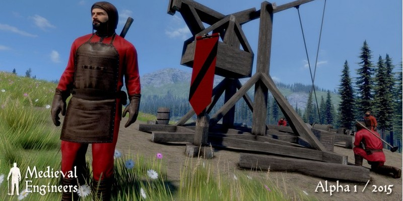Keen Software hat einen Multiplayer-Modus in Medieval Engineers integriert.