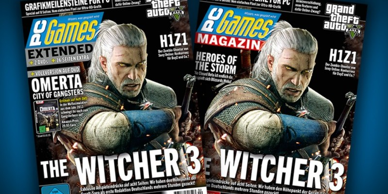 PC Games 02/15 mit Vollversion Omerta: City of Gangsters + Titelstory The Witcher 3