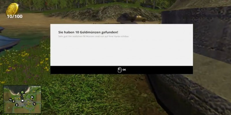 Landwirtschaft-Simulator 15: Alle Goldmünzen plus Belohungen