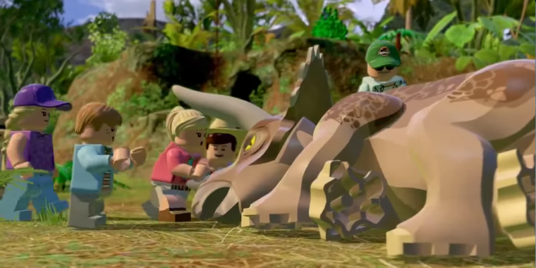 Lego Jurassic World - Alle 20 Roten Steine finden - Video-Guide