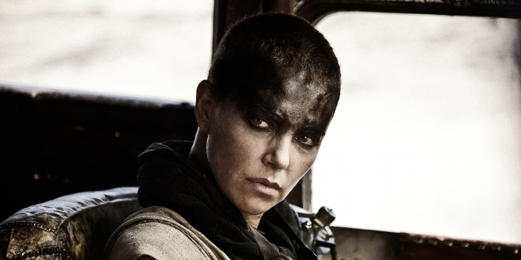 "Charlize Theron als Furiosa in ""Mad Max"""