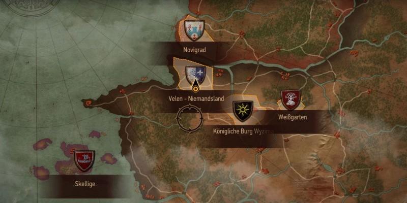 Witcher 3 Velen Karte.The Witcher 3 Reisefuhrer Zu Den Wichtigsten Orten Der Welt