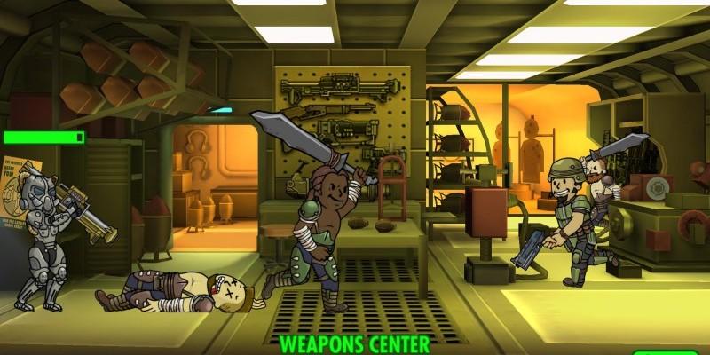 Запуск Fallout Shelter на PC и Mac (версия Android