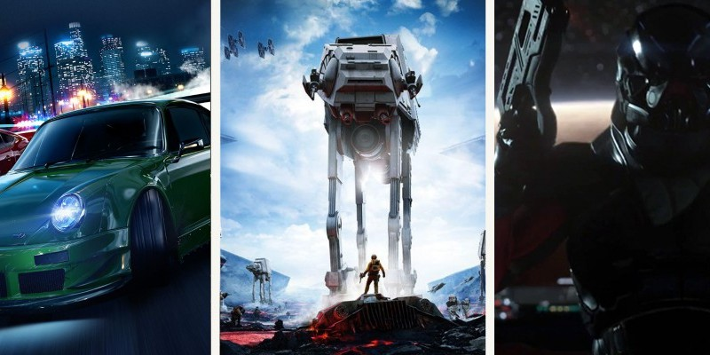 Electronic Arts: Alle E3-Videos mit Mass Effect, Need for Speed und mehr