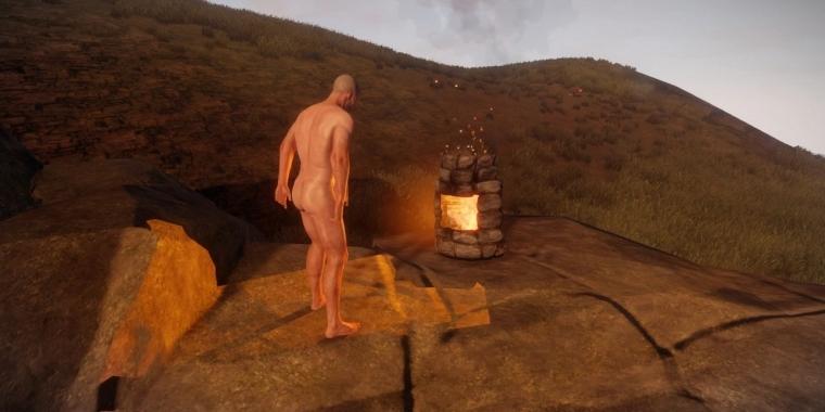 Rust: Penisgröße der Charaktere an Steam-ID gebunden
