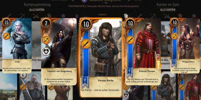 The Witcher Karte.The Witcher 3 Tipps Fur Gwint Karten Sammeln Strategie
