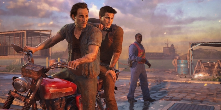 Actionspiele 2016 für PS4: Uncharted 4.