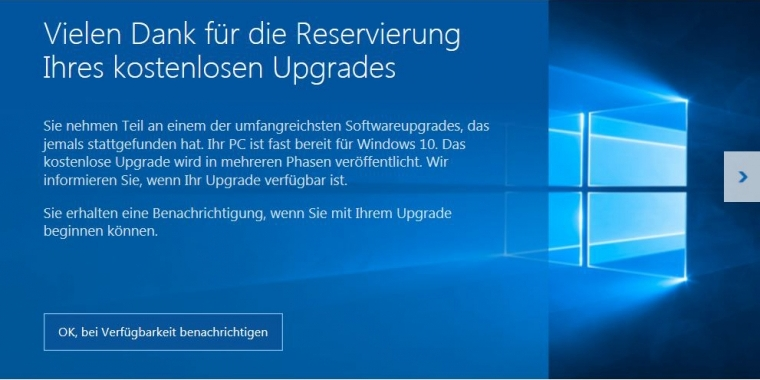 Windows 10 ist da, der Pre-Download für alle hat begonnen.