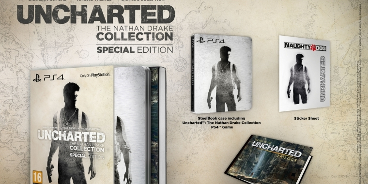 Uncharted: The Nathan Drake Collection erscheint auch als Special Editon.