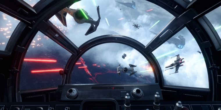 Star Wars: Battlefront gespielt: X-Wing vs. TIE Fighter reloaded? - Video-Update