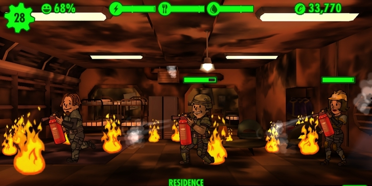 Fallout Shelter - Probleme mit Savegame-Bug - erster Workaround