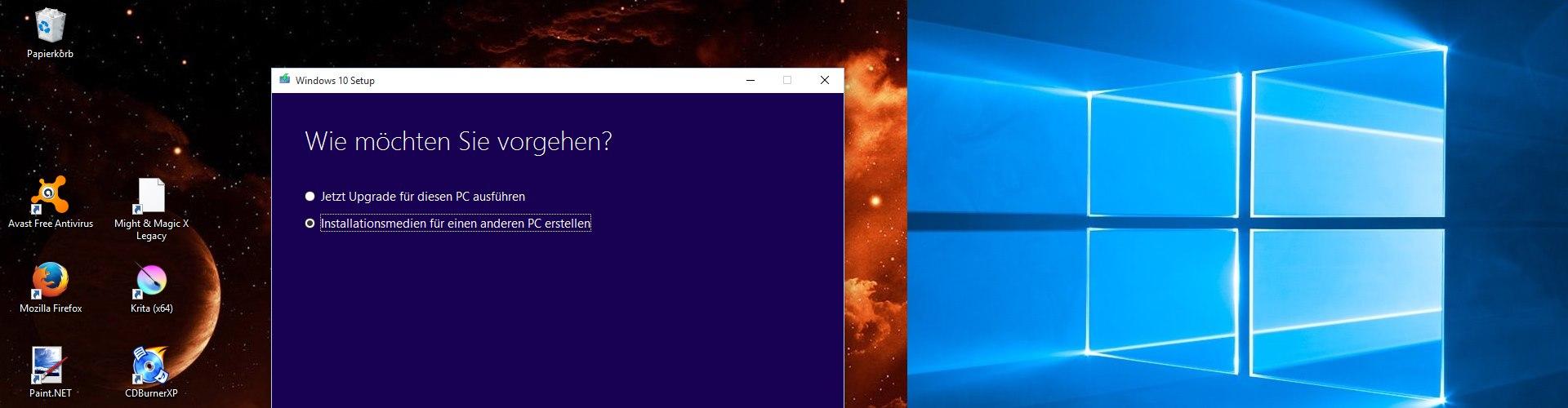 bereinigung windows 10 kostenlos
