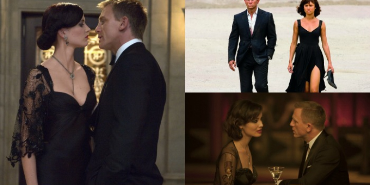 "Daniel Craigs Bond-Girls von ""Casino Royale"" (2006) bis ""Spectre"" (2015)"