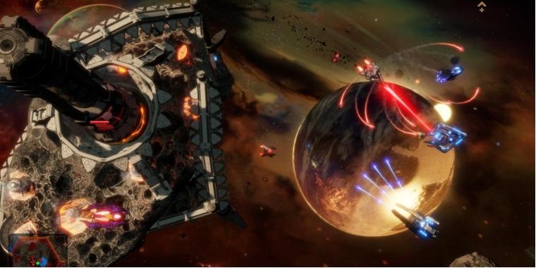 Dead Star Recore Macher Kundigen Taktischen Space Shooter An