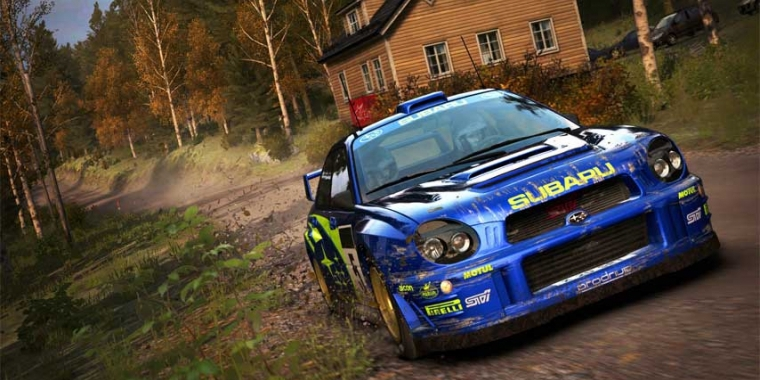 Dirt Rally Flying Finland 4 Gamezone B2article Artwork