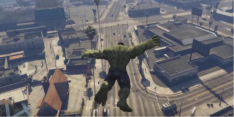 GTA 5: Neue Version der Hulk-Mod veröffentlicht