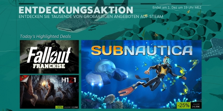 Steam: Der Herbst Sale 2015
