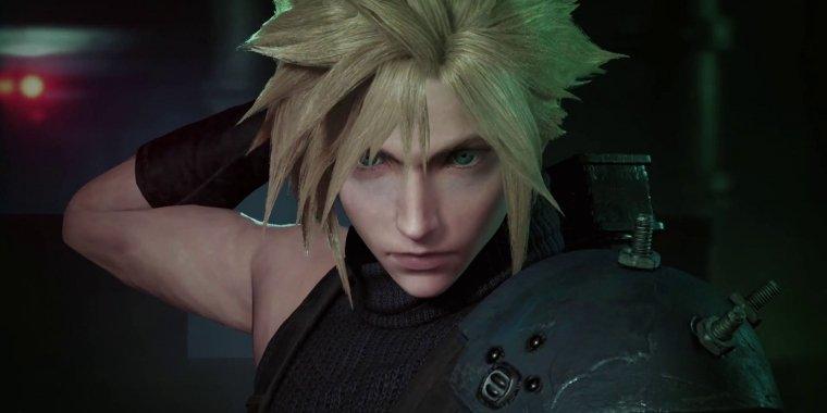 Final Fantasy 7 Remake: Cloud Strife