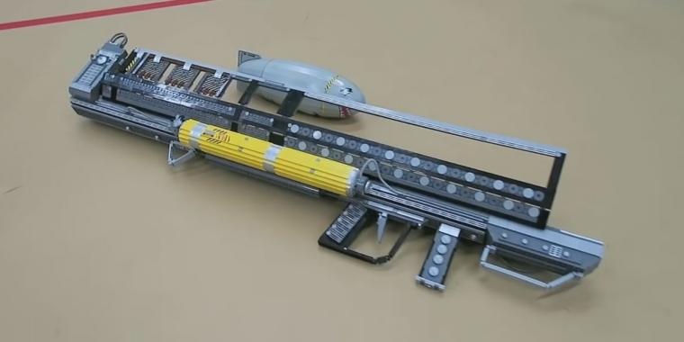 fallout 4 mini nuke launcher fat man aus lego nachgebaut. Black Bedroom Furniture Sets. Home Design Ideas