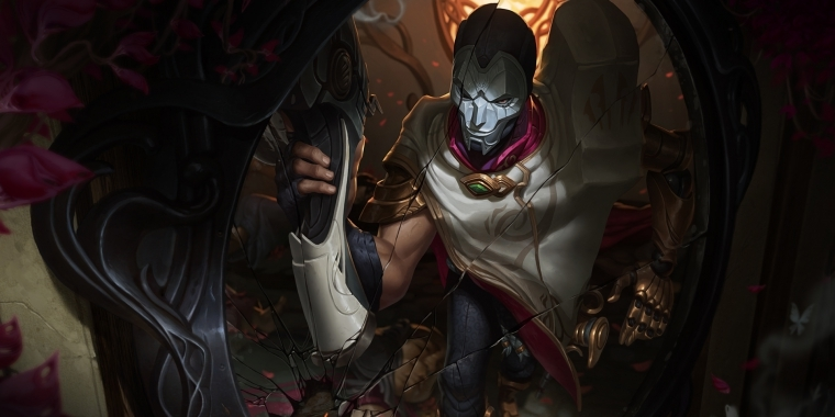 "Das ist der neue League of Legends-Champion ""Jhin der Virtuose""."