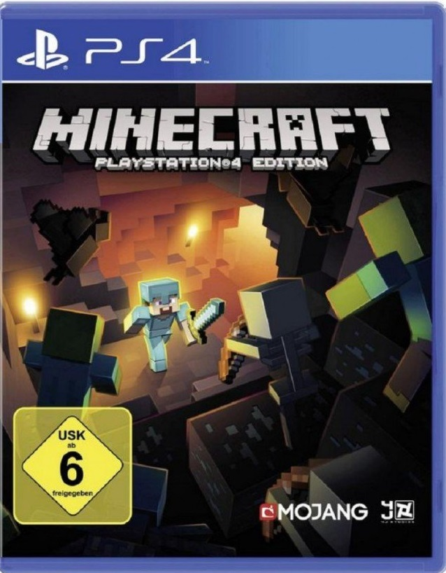 Minecraft PSVersion Zum Spottpreis Update - Minecraft spielen ps4