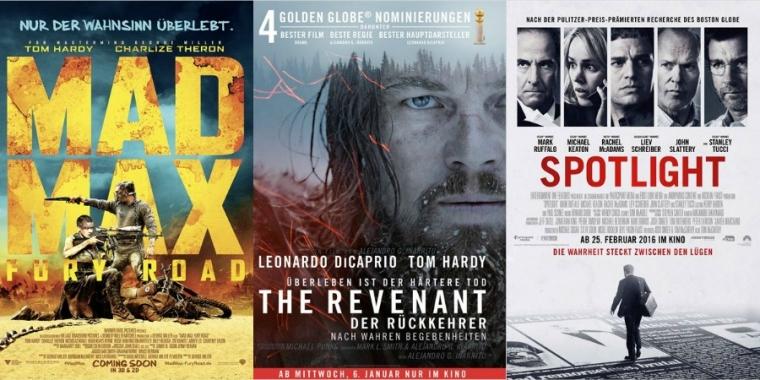 Oscars 2016 Das Sind Die Gewinner Der Begehrten Trophäe
