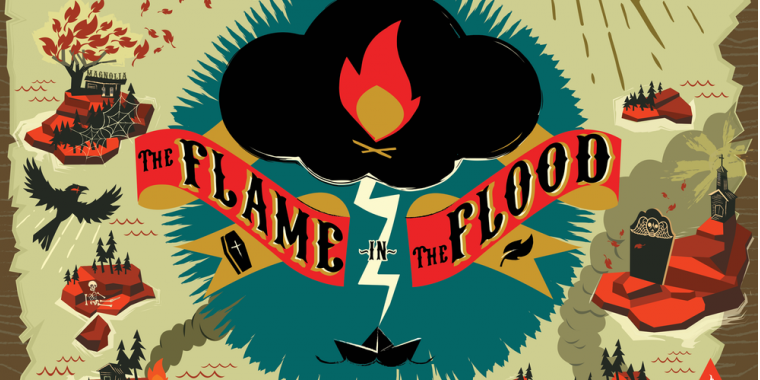 The Flame in the Flood hat einen Release-Termin.