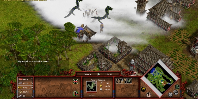 Screenshots zu Age of Mythology: Tale of the Dragon. (1)