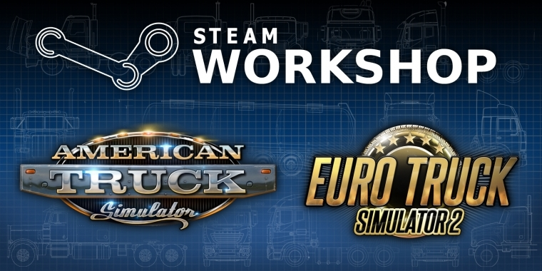 Nach ETS 2 wurde nun auch American Truck Simulator an den Steam Workshop angebunden.