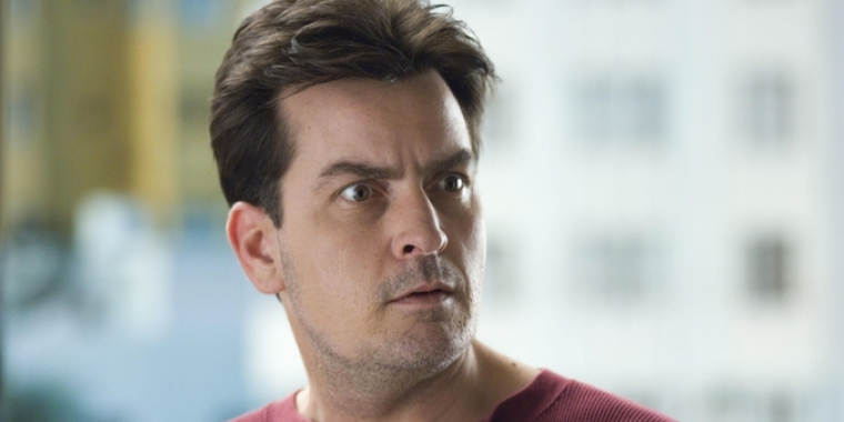 "Charlie Sheen in ""Scary Movie 3"""