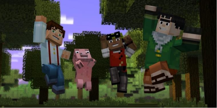 Minecraft Story Mode Im Test Eine Neue Dimension Der Langeweile - Minecraft offline zu zweit spielen pc