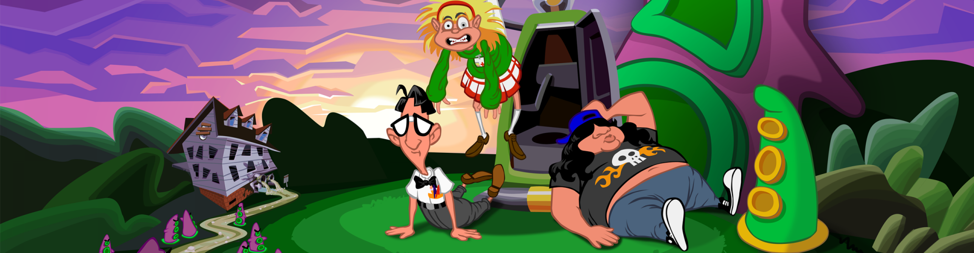 Day of the Tentacle Remastered: Die HD-Neuauflage im Test
