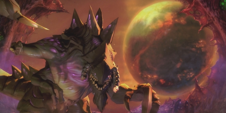 Heroes of the Storm: Dehaka