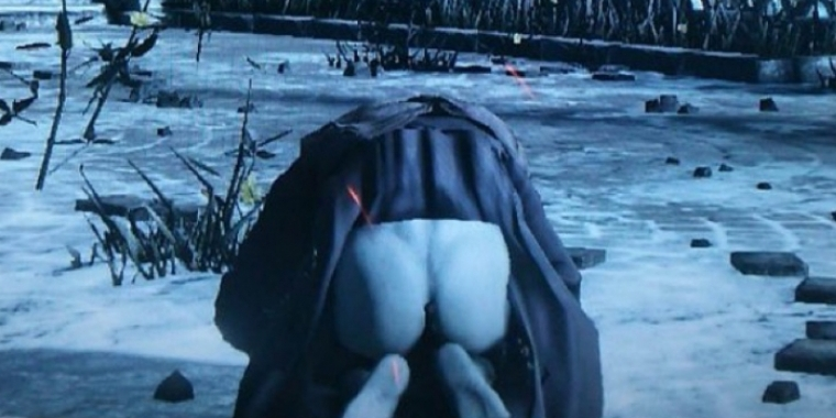 Dark Souls 3 Butt Glitch