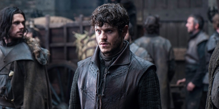 "Iwan Rheon in der Rolle des Ramsay Bolton in ""Game of Thrones""."
