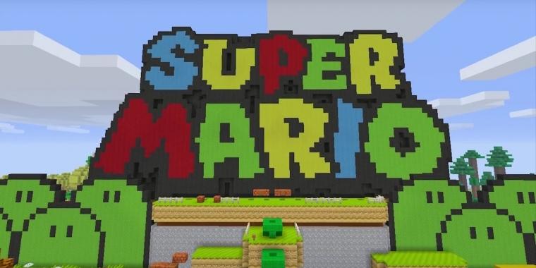 Minecraft Super Mario MashUp Pack Für Wii U Angekündigt - Minecraft online spielen wii u