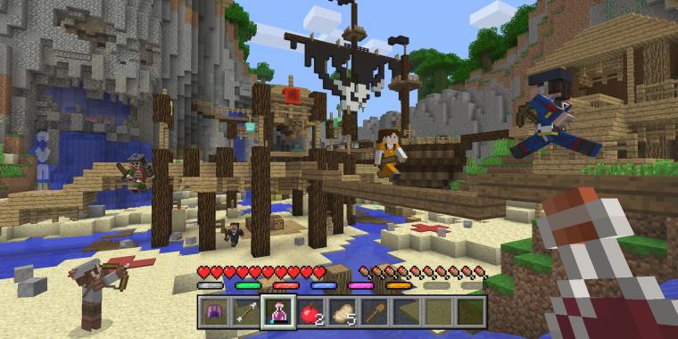 Minecraft Microsoft Kündigt Minispiele An - Minecraft ps4 minispiele