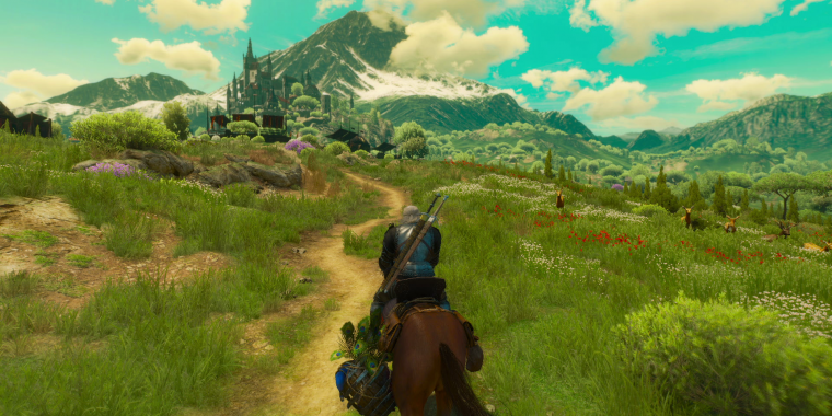 Die neue Region Toussaint bei The Witcher 3: Blood and Wine soll so groß sein wie Ard Skelige.