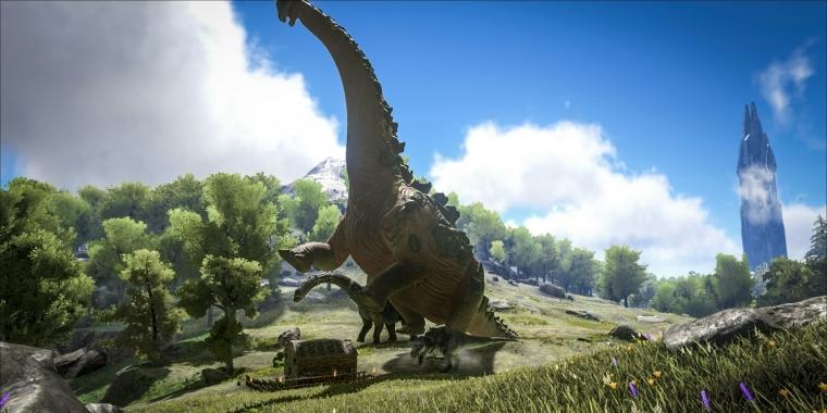 ein neues update aktiviert den vulkan des survival spiels ark 2 - vulkan fortnite ausbruch