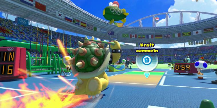 Mario Sonic Rio 2016 Im Test Wii U Spaß Zu Olympia