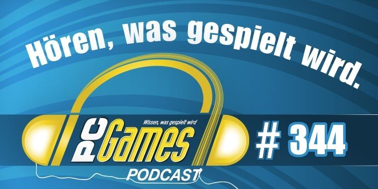 PC Games Podcast 344 Logo