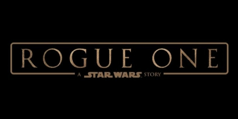 "Titelschriftzug ""Rogue One: A Star Wars Story"""