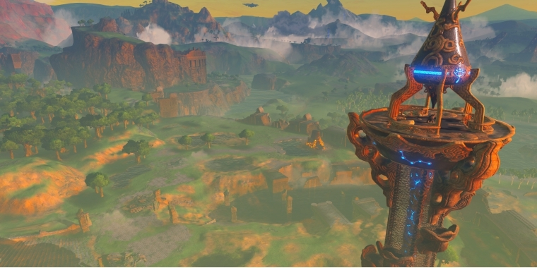The Legend of Zelda: Breath of the Wild - So gekonnt erklimmt ein Spieler Türme (5)