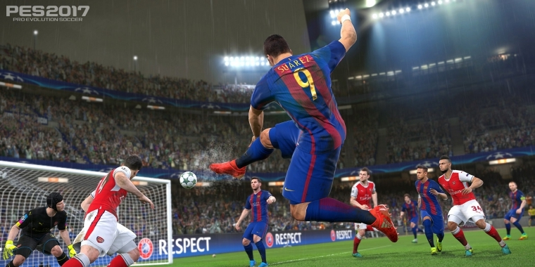 Konami kündigt eine Integration der PES League in Pro Evolution Soccer 2017 an.