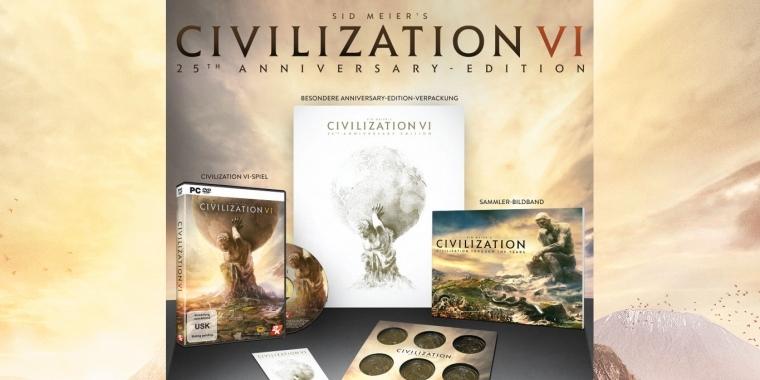 Civ 6: Limitierte 25th Anniversary Edition angekündigt