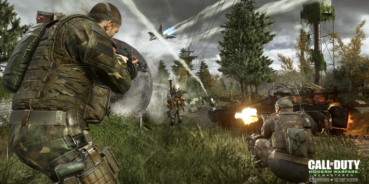 Cod Modern Warfare Remastered Mp Overgrown Wm Pc Games Artwork Twitter Deutsche Version