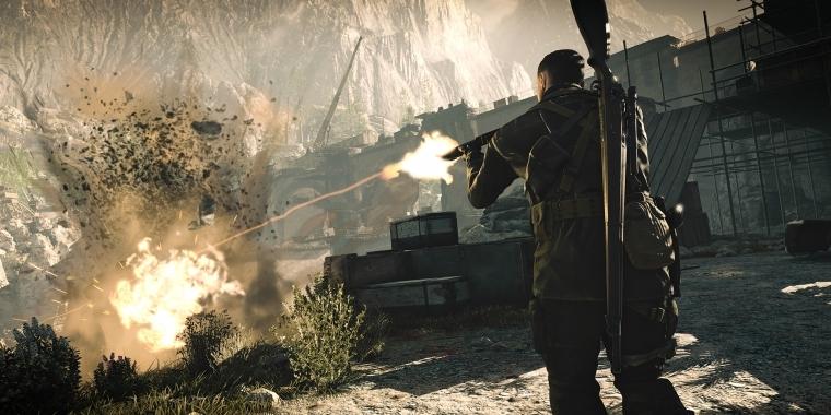 Sniper Elite 4 Erscheint Am Valentinstag.