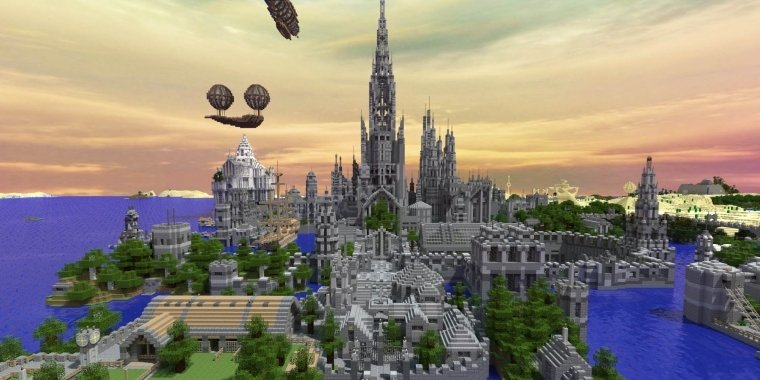 Futuristic Minecraft Buildings